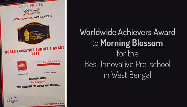 Worldwide Achievers Award to Morning Blossom